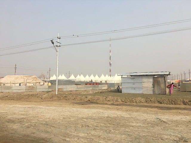 Kumbh Mela set-up